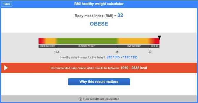 BMI Healthy Weight Calculator 5
